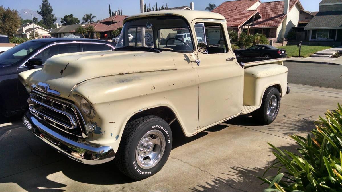 1957 Chevy Truck Stepside Pickup