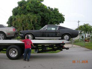 Mustang fastback import aus den usa