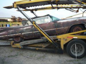 1959 Cadillac Cabrio verschiffung nach austria